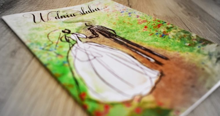 W Beskid z kartką ślubną – czyli bardziej o miejscach niż o kartce