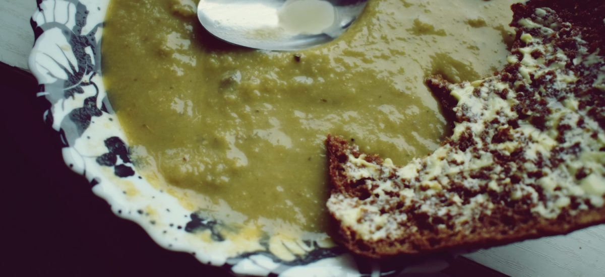 Krem pieczarkowo-porowy – zupa do słoika